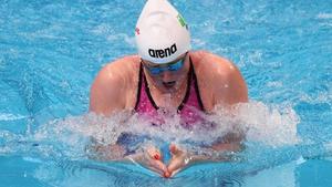 Fiona Doyle swam 2:29.77 in the 200m breaststroke