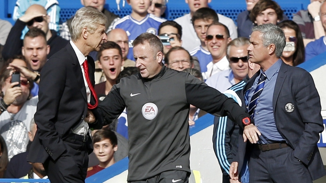 Wenger and Mourinho continue to squabble