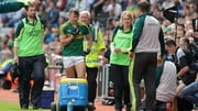 James O'Donoghue leaves the field of play