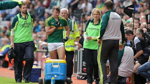 Kerry move to allay O'Donoghue injury fears