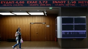 Bank stocks have fallen by the maximum amount permissible for the last two days