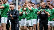 Pete McGrath and his players - beaten but unbowed
