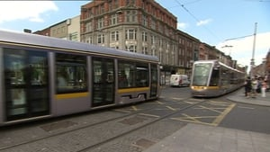 Some Luas employees began a work-to-rule on Saturday