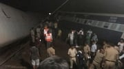 Two trains derail in central India claiming the lives of at least twenty people