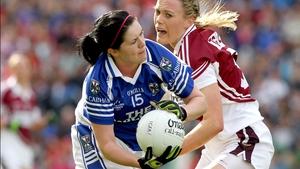 Aisling Doonan in action against Westmeath