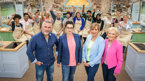 The Great British Bake Off 2015 is in motion!