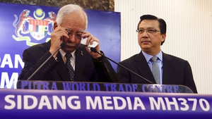 Malaysian Prime Minister Najib Razak said the find marks a major breakthrough in resolving the mystery of the flight's disappearance