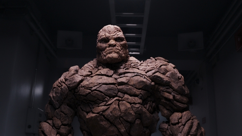 Jamie Bell plays Ben Grimm/The Thing in Fantastic Four
