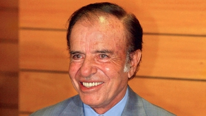 Carlos Menem has already been convicted in a separate case of trafficking arms to Croatia and Ecuador