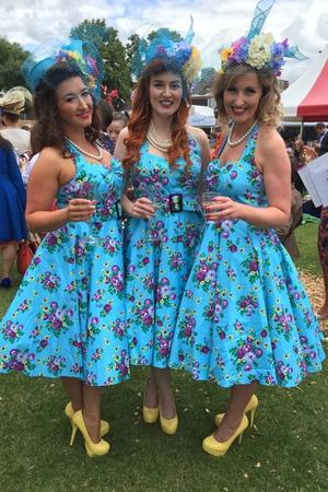 The Apple Blossoms: Keri Ann Rowan, Allison Saul Bracken, Kate Donohoe