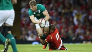 Andrew Trimble missed out on the original Ireland 31-man squad by a whisker