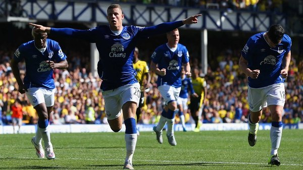 Ross Barkley hit a sublime effort but Everton were held to a 2-2 draw by Watford