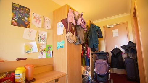 775 families were living in emergency accommodation last year