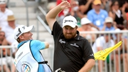 Shane Lowry celebrates his victory at the 2015 Bridgestone Invitational