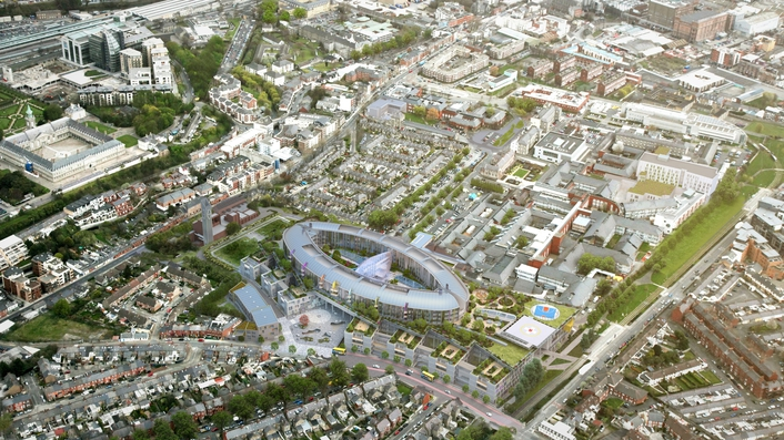 Planning for children's hospital to be submitted