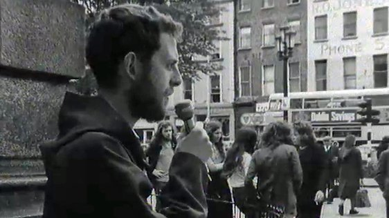 Preaching at St. Stephen's Green, Dublin (1978)