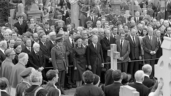 Funeral of Éamon de Valera (1975)