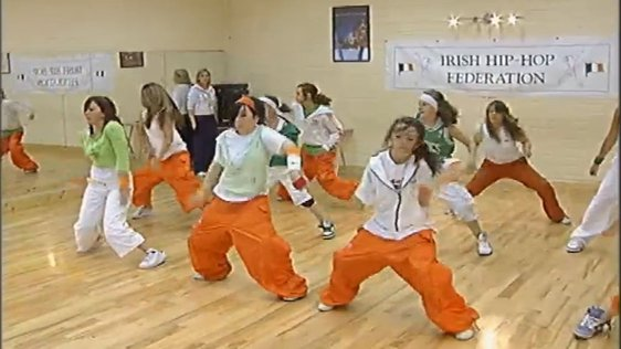Irish Hip Hop Team 2005