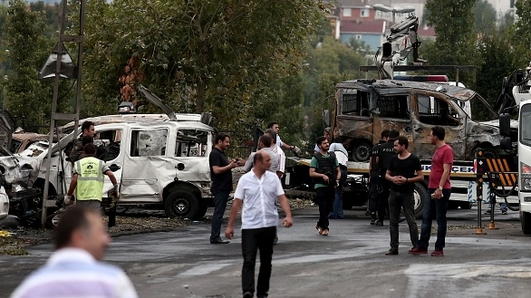 Six people killed in a series of attacks in Turkey