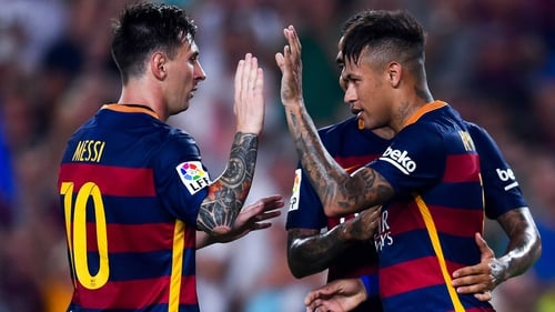 Neymar will miss the clash with Sevilla as he has contracted the mumps