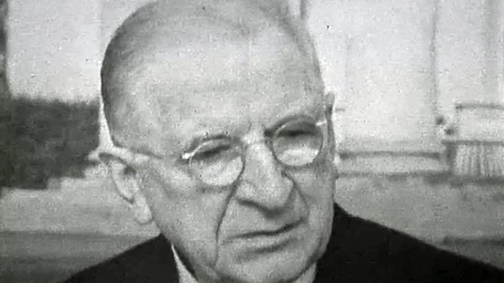 Éamon de Valera on his 80th Birthday