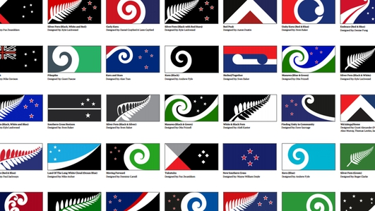 New flag options released for New Zealand