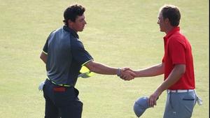 Rory McIlroy is hot on the heels of Jordan Spieth