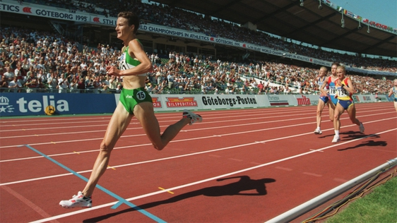 Sonia O'Sullivan Wins Gold in Gothenburg (1995)