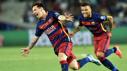 Lionel Messi scored two of Barca's five in yet another superb performance from the diminutive Argentine