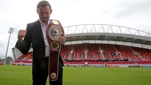 Andy Lee said that he still wanted the fight to go ahead at Thomond Park