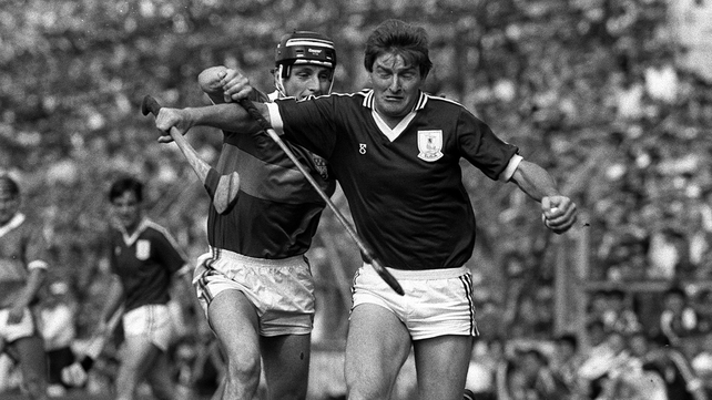Noel Lane of Galway and Tipperary's Conor O'Donovan