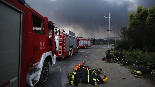 Death toll rises after blasts at Chinese port