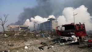 China sacks work safety chief after Tianjin blasts
