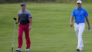 Jordan Spieth believes that Rory McIlroy will put the pressure on Dustin Johnson