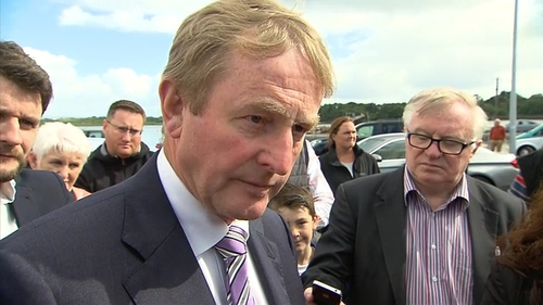 Taoiseach Enda Kenny said 'it is a case of having joined-up thinking'