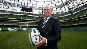 New IRFU President Martin O'Sullivan