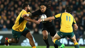 Ma'a Nonu scored a brace of tries in a superb performance from the All Black centre