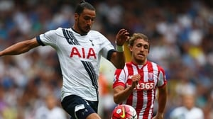 Nacer Chadli is on his way to West Brom