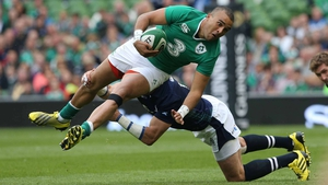 Simon Zebo is fully fit after Saturday's Test match