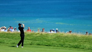 Rory McIlroy was four under from his opening five holes