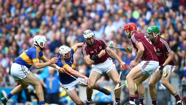Galway beat Tipperary in last season's All-Ireland semi-final