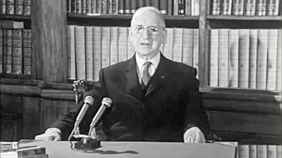 Éamon de Valera New Year Address (1967)