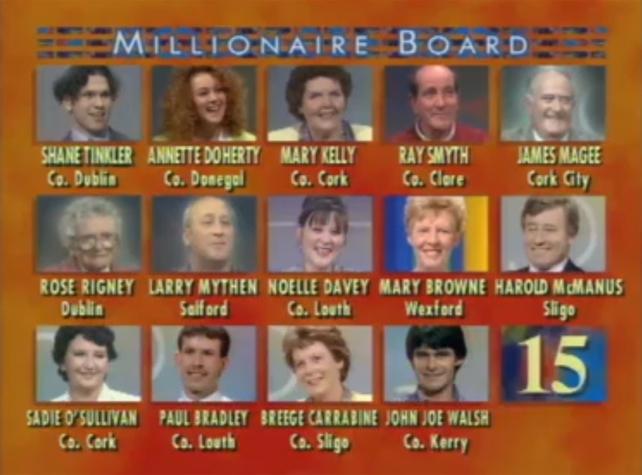 Millionnaire Board