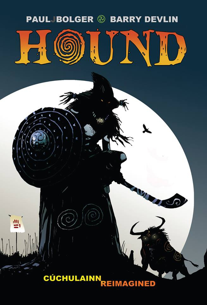 "Graphic novel ""Hound: A Celtic Myth Set in Ancient Ireland"""