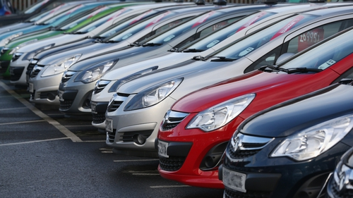 The weakness of Sterling has led to a huge demand for cars imported from the UK and Northern Ireland.