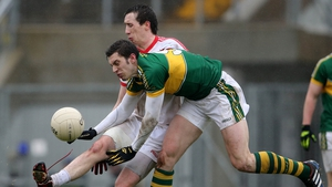David Moran and Tyrone's Colm Cavanagh will be looking to dominate the midfield exchanges on Sunday