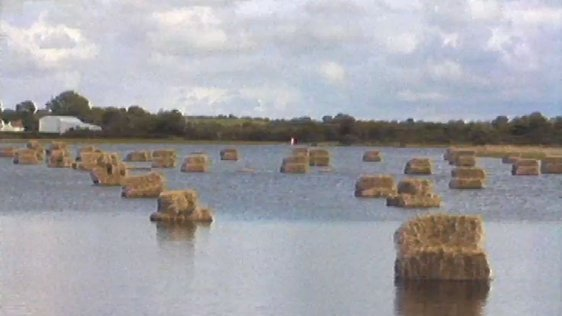 Flooded fields in South Roscommon