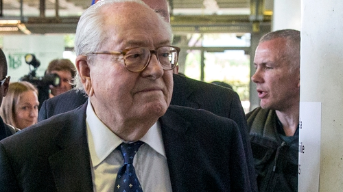 Jean-Marie Le Pen has been engaged in a high profile feud with his daughter