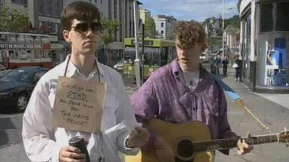 Summer Busking in Cork