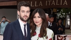 Jack Whitehall and girlfriend Gemma Chan at the London premiere of The Bad Education Movie